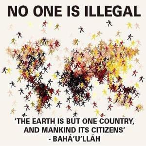 no one is illega